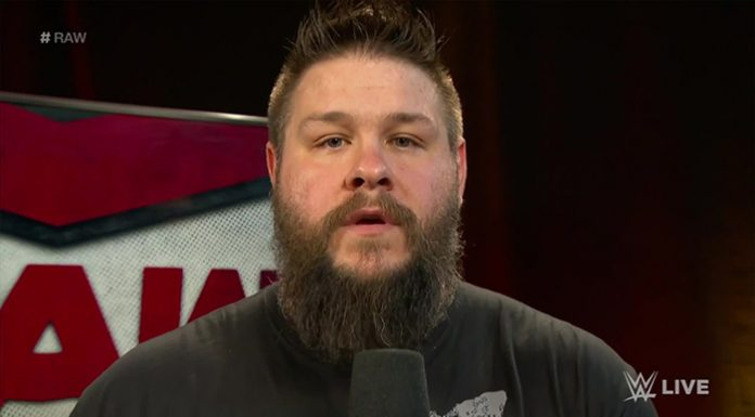 Kevin Owens stays home