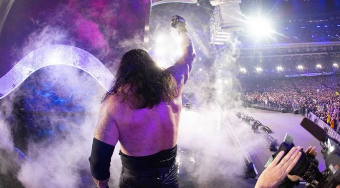 Undertaker thanks the fans