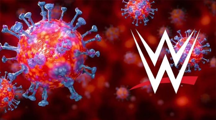 WWE announces positive COVID-19 test