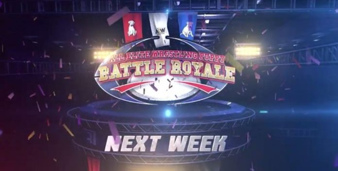 Puppy Battle Royale set for AEW Fyter Fest Night Two next week on TNT