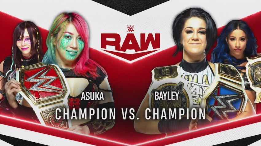 Champion vs. Champion Match for this Monday's episode of Raw