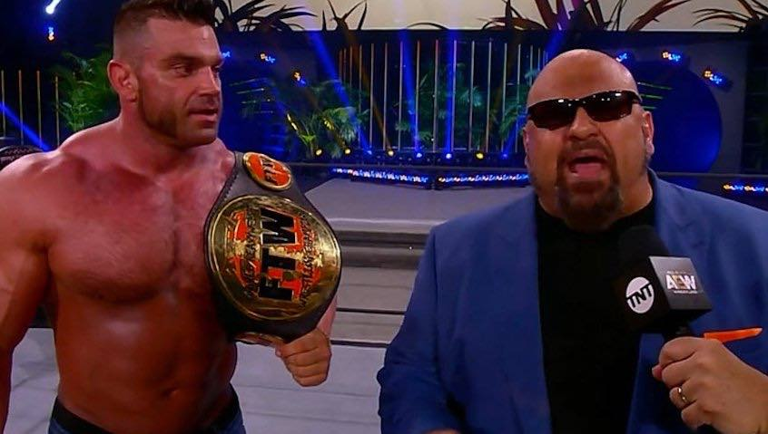 Details on FTW Champion belt brought to AEW