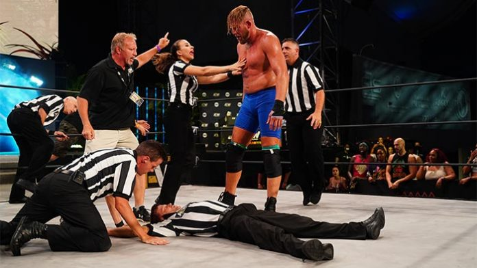 Jake Hager suspended in storyline