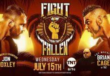 AEW Championship Match pushed back to July 15