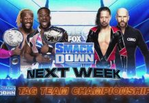 New matches for next week's episode of WWE SmackDown