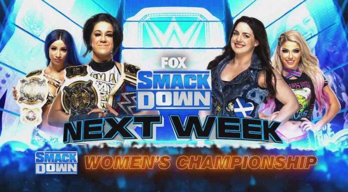 Women's Championship match set for next week's WWE SmackDown