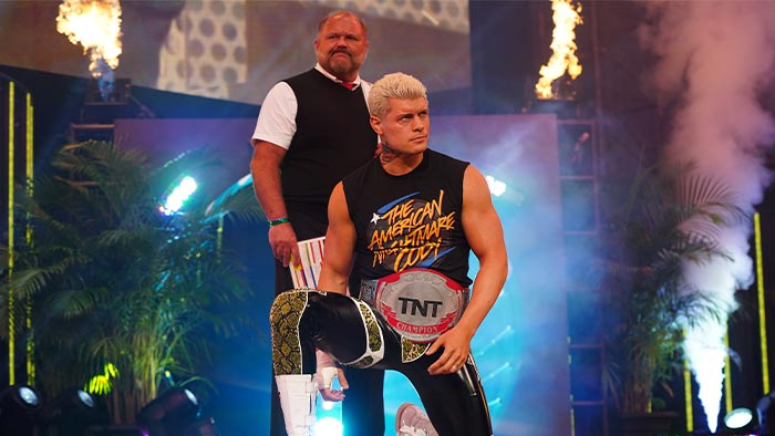 """WWE files for """"Cody Rhodes"""" name"""
