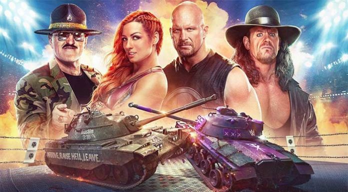 WWE and World of Tanks