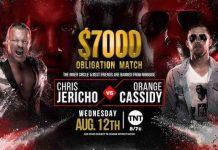 Stipluation added to Chris Jericho vs. Orange Cassidy on Dynamite