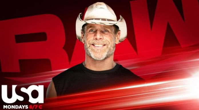 Shawn Michaels announced for this Monday's episode of Raw