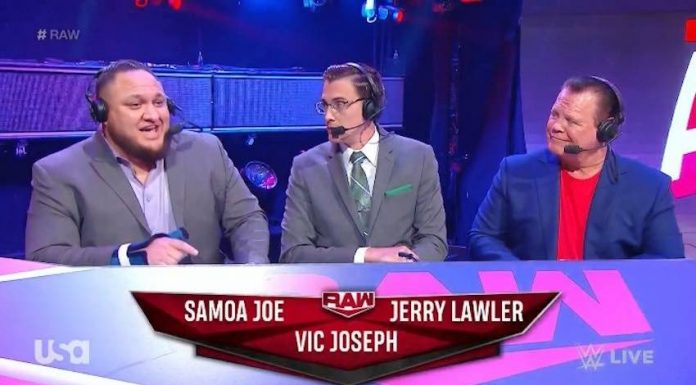 Vic Joseph joins the WWE NXT announce team