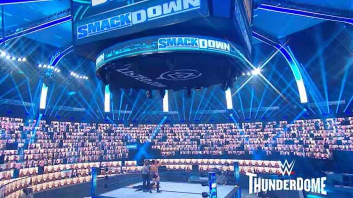 WWE thanks fans making ThunderDome trend worldwide
