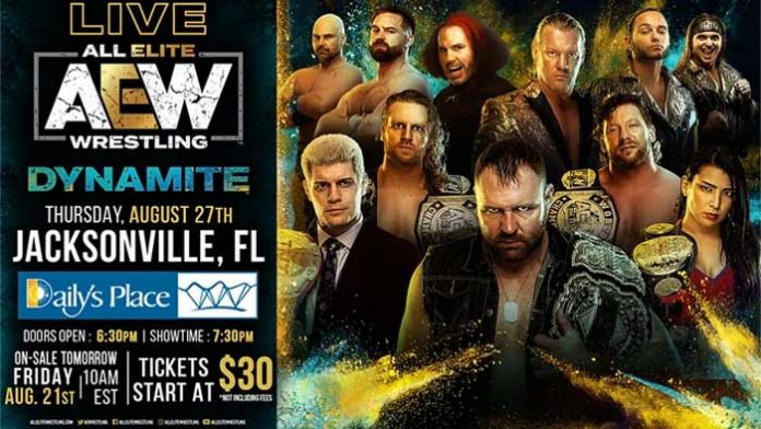 AEW selling tickets for fans