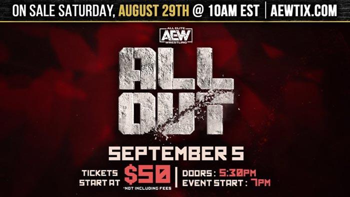 AEW tickets on-sale