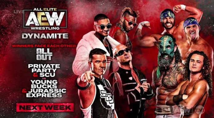 Matches for AEW Dynamite