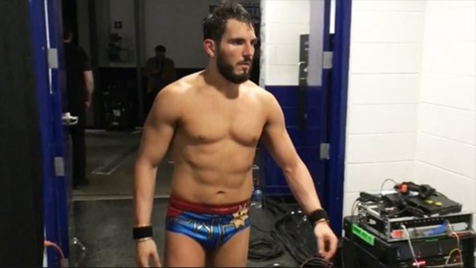 Scary moment with Johnny Gargano