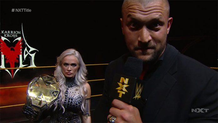 Karrion Kross relinquishes the NXT Title
