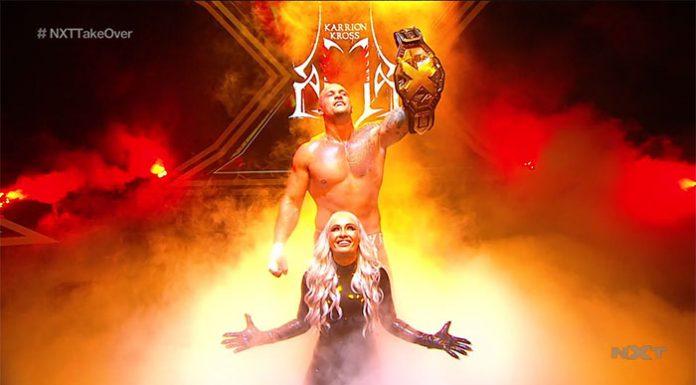 Karrion Kross wins the NXT Title