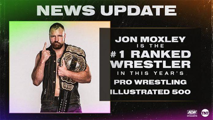 Jon Moxley Tops PWI 500