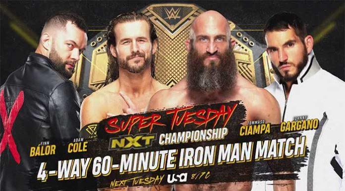 NXT Title Iron Man