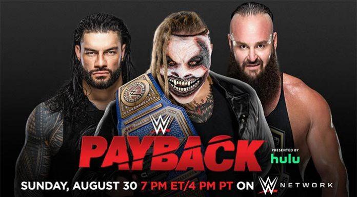 WWE Payback Matches