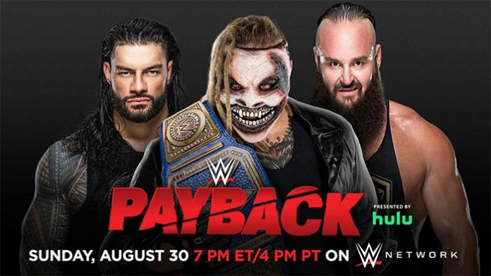 WWE Payback Matches