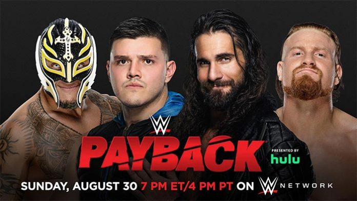 Mysterios vs. Rollins and Murphy at Payback