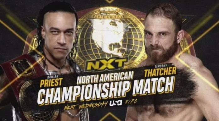 Two Championship Matches announced for next week's NXT