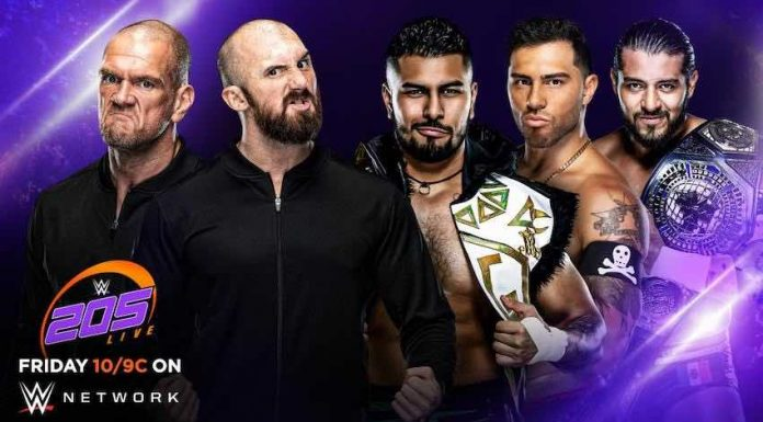 Tag Team Match announced for Friday's 205 Live