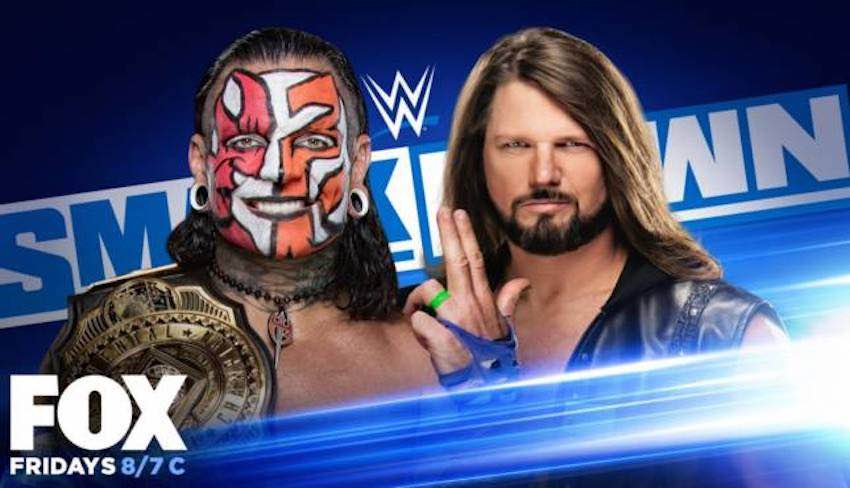 Title match and segments set for tomorrow's WWE SmackDown