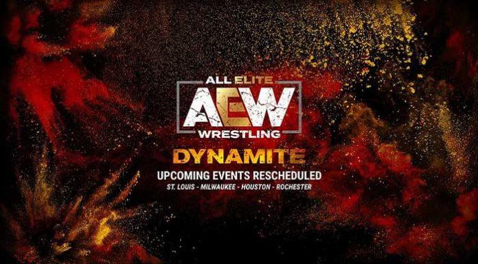 AEW Dynamite rescheduled