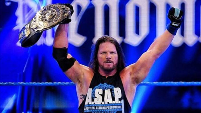 AJ Styles tests positive for COVID-19