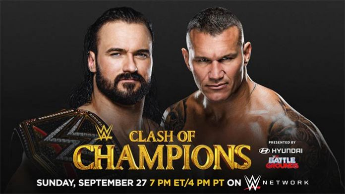 McIntyre vs. Orton at Clash of Champions
