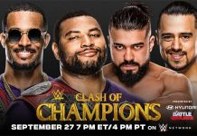 New matches for WWE Clash