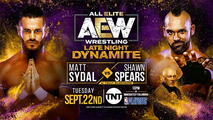 Matches for two Dynamite shows