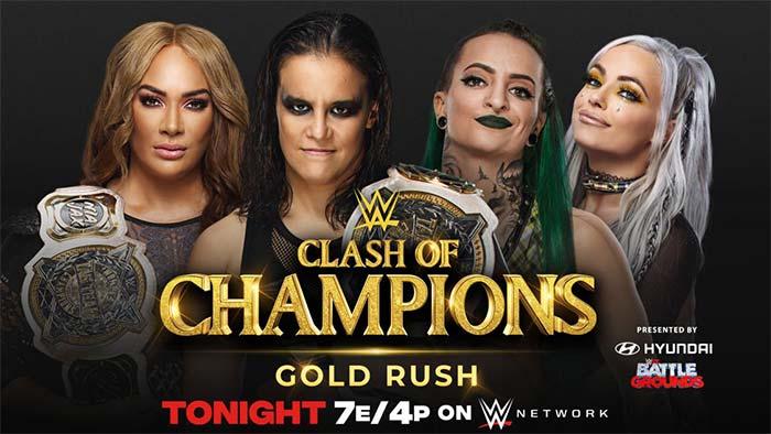 WWE Clash matches changed