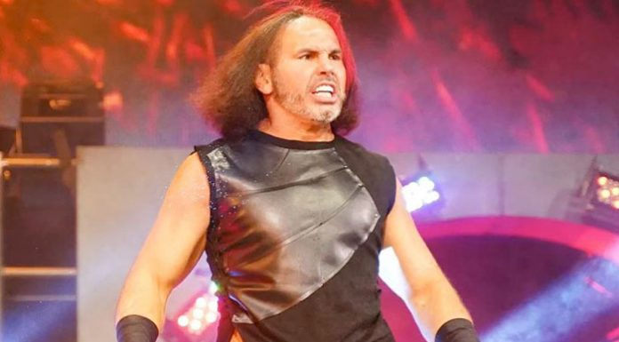 Matt Hardy released from hospital