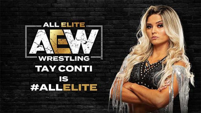 Tay Conti signs with AEW