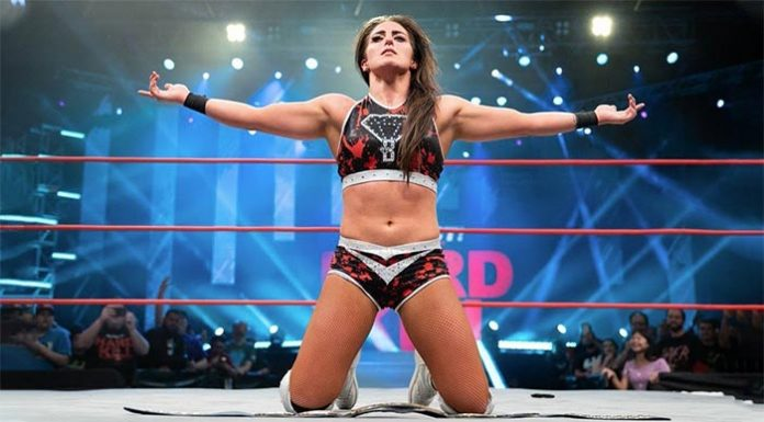 Tessa Blanchard in WWE 2K Battlegrounds