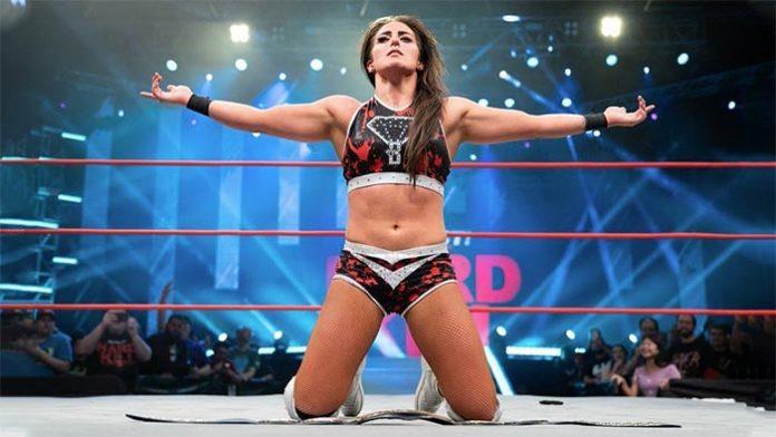 Tessa Blanchard in WWE 2K Battlegrounds