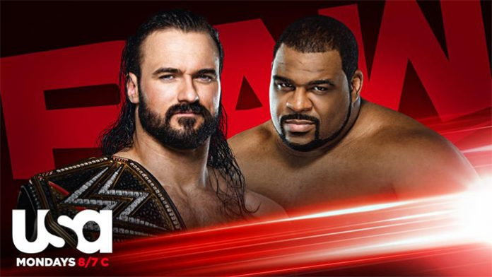 WWE Raw In Your Face matches