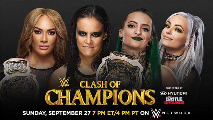 Women's Tag Title match at Clash of Champions