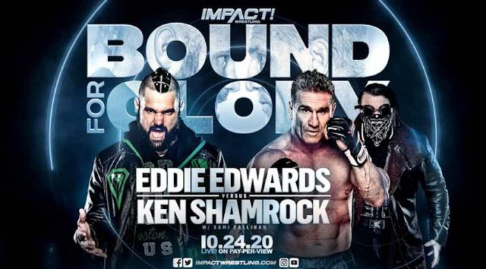 Eddie Edwards vs. Ken Shamrock with Sami Callihan added to Bound For Glory