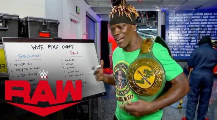 WWE 24/7 Championship changes hands twice on Raw