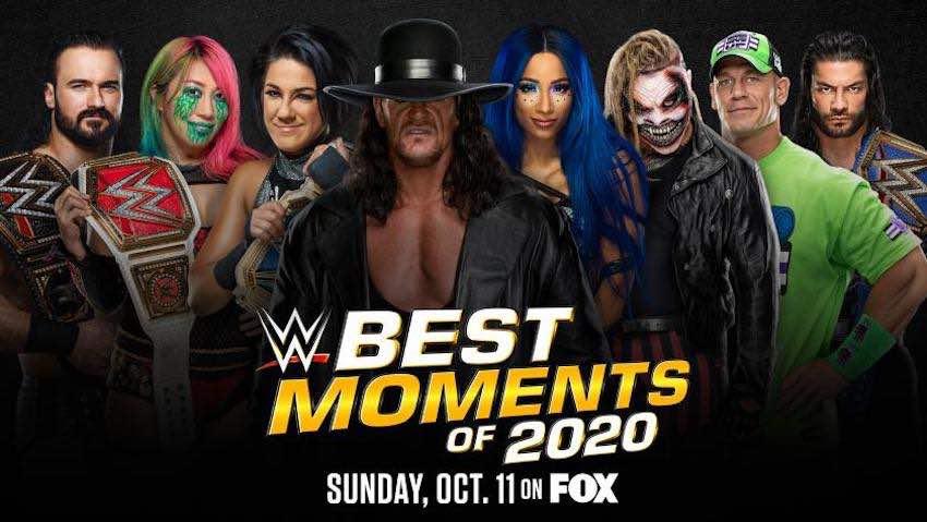 Watch WWE Best Moments Of 2020 12/31/20