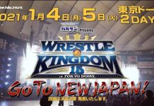 NJPW Wrestling Kingdom 15 will be a two-night event