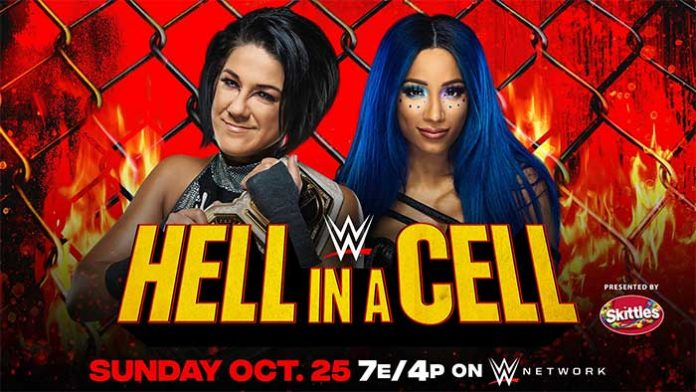 Bayley vs. Banks in Hell in a Cell