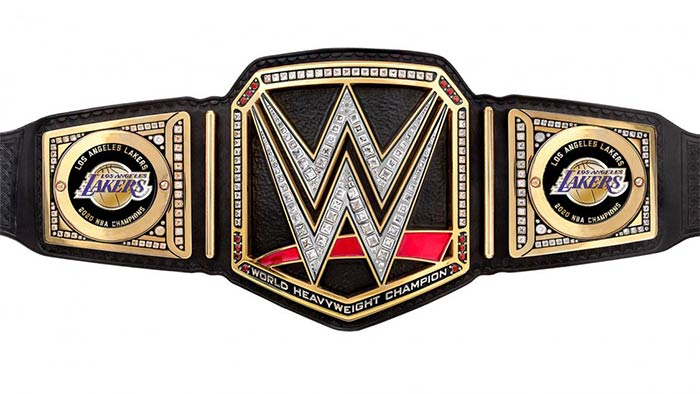WWE sends title to Lakers