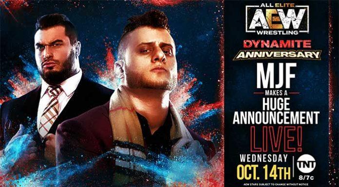 MJF segment announced for Dynamite