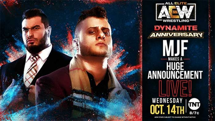 MJF segment announced for Dynamite
